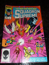 SQUADRON SUPREME Comic - Vol 1 - No 1 - Date 09/1985 - MARVEL COMICS