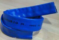 Manguera Plana de 35 mm Reforzada con Hilo de Poliester para Presiones Medias