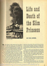Life & Death Of Slim Princess Narrow Gauge R+Genealogy
