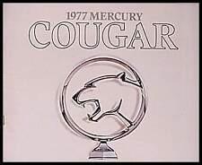 1977 Mercury Cougar ORIGINAL Color Dealer Brochure