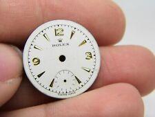 Cadran Montre ROLEX watch dial. N S34 NAD 1950 vintage rolex