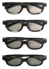 (Lot of 4) REAL D Passive 3D Glasses Adult Size >NEW<
