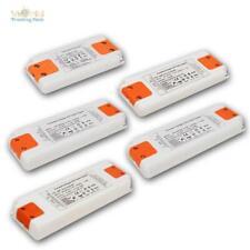 LED Slim-Transformator flach 12V 6-50W, falcher Trafo Vorschaltgerät EVG Treiber