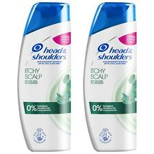2 Head&Shoulders Anti-Dandruff Shampoo Itchy Scalp Relief Soothing Formula 250ml
