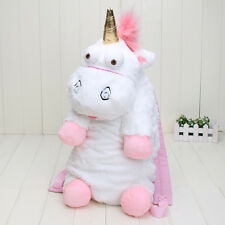 Unicorn Plush Backpack Bag Despicable ME Its SO Fluffy Stuffed Doll Agnes Gift