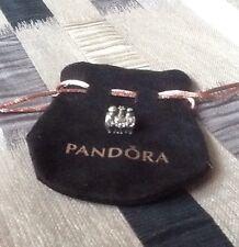 NEW genuine Pandora Christmas Three Wise Men 925 silver & 14ct gold Charm