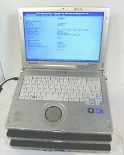 Lot OF 3 Panasonic ToughBook CF-C1 Intel Core i5  No Hard Drive / Locked