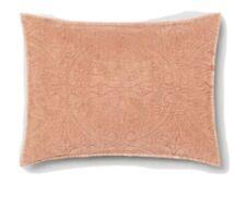 Opalhouse Dark Peach Stitch Medallion Sham Standard