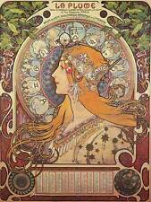 ALPHONSE MUCHA ART NOUVEAU OLD MASTER ART PAINTING PRINT POSTER REPRO 128OM