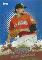 2013 Topps Spring Fever Miami Marlins Baseball Card #SF24 Nate Eovaldi
