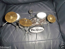 THE BEATLES RINGO'S LUDWIG MINIATURE DRUM SET DRUMS CYMBALS  STOOL DRUMSTICKS