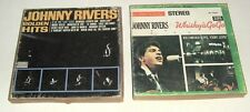 Lot 2 Johnny Rivers 4-Track,Reel-2-Reel Tapes,Liberty Records,Imperial, Whiskey
