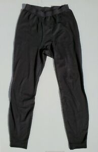 Patagonia Capilene Mens M Performance Base Layer Long Johns Underwear Black USA