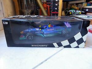Sauber Petronas C19 Red Bull Pedro Diniz #16 1/18 Minichamps 1999 Fórmula 1 F1
