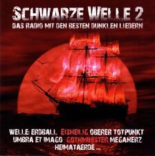 (RADIO) SCHWARZE WELLE 2 - 2CD (Welle Erdball, Eisbrecher, In Strict Confidence)
