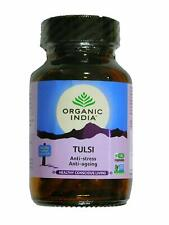 Organic India Tulsi 60 Capsules Natural Health Supplement Free shipping