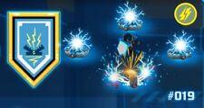 Lego ® 100% Offizielle Nexo Power Shield Blau Clay-Zap Zap #019 [NEU]
