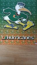 """University of Miami The """"U"""" Hurricanes  Official 2003 Starline Poster"""