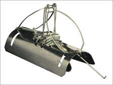 Paquete De 6 túnel de parada de plagas tipo barril Mole roedor matar rápida de Acero Galvanizado trampa
