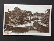 Vintage RPPC Cumberland: #T22: Devils Bridge From New Bridge Kirby Lonsdale 1932
