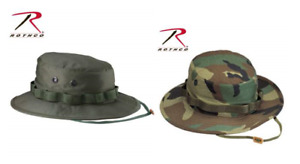 Boonie Hat Cap 100% Cotton Rip Stop Military