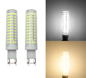 G9 LED Light bulb 10W 110V/220V 136-2835 SMD Ceramics Lamp Equivalent to 100W