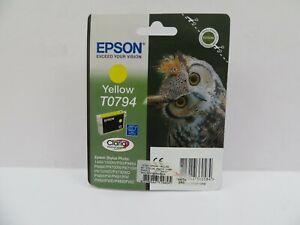 Epson T0794 Yellow Inkjet Cartridge BBE 06.21