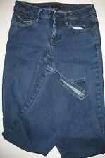 Banana Republic Size 2R Denim Blue Jeans Boot Cut Dark Wash  Flap Pockets