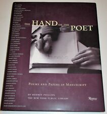 THE HAND OF THE POET—POEMS AND PAPERS IN MANUSCRIPT NY PUBLIC LIBRARY 1997 DJ