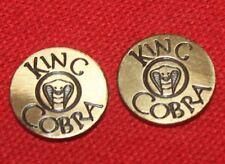 Colt Firearms Factory King Cobra Grip Medallions