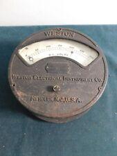 Antique Weston Electrical Dc Volt Meter