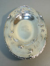 "SIMPSON, HALL & MILLER STERLING SILVER ART NOUVEAU 9.5"" TRAY with MERMAID"