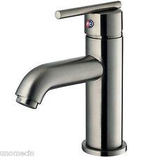 Vigo Setai Single Handle Bathroom Faucet Brushed Nickel Finish Model # VG01038BN