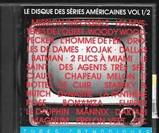 CD COMPIL BOF/OST--LE DISQUES DES SERIES AMERICAINES VOL 1 - TUBES CATHODIQUES
