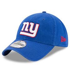 New York Giants New Era NFL 9TWENTY Strapback Adjustable Hat Dad Cap Blue 920