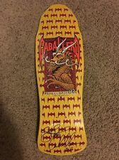 Powell Peralta Steve Caballero Street Bats Signed Autographed Skateboard Deck