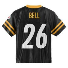 (2017-2018) Pittsburgh Steelers LE'VEON BELL nfl Jersey YOUTH KIDS BOYS (xl)