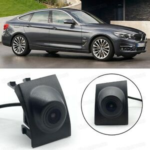 Waterproof CCD Car Grill Front View Camera Embedded for 2014-Up BMW 3-Series GT