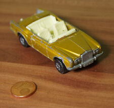 Coche modelo Matchbox series nº 69 Rolls Royce Silver Shadow Coupe 1969 Lesney