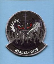 HMLA-269 GUNRUNNERS BLACK USMC MARINE CORPS Helicopter Squadron Jacket Patch