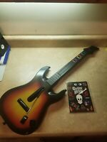 Guitar Hero PlayStation 2 PS2 Sunburst Red Octane No Dongle With  Stickers