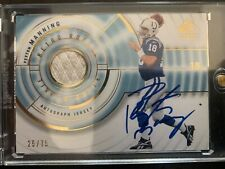 New listing 2008 SP Authentic Retro Rookie Jersey /75 Peyton Manning Auto Patch HOFer
