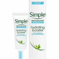 Simple Water Boost Hydrating Booster, Sensitive Skin 0.85 Fl Oz