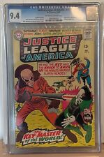 JUSTICE LEAGUE OF AMERICA #41 - CGC 9.4 - 1ST APPEARANCE OF THE KEY, HAWKGIRL