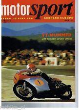 MS7307-DUTCH TT ISSUE,YAMAHA,HONDA,MOTOCROSS,NORTON
