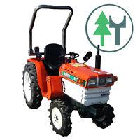kleintraktor allrad traktor kubota b7000 neu lackiert. Black Bedroom Furniture Sets. Home Design Ideas