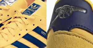Adidas Arsenal 1971 TRX trainers ltd edition 1/1971 pairs 10.5 45 us11 malmo cw