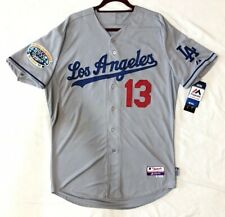 AUTHENTIC MAJESTIC 40 MED. HANLEY RAMIREZ LOS ANGELES DODGERS COOL BASE JERSEY