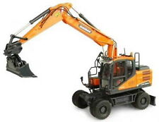 Universal Hobbies 1/50 DOOSAN DX160W Wheeled Excavator Diecast Model UH8134