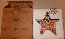 Jim Shore Christmas Ornament Nativity Star Original Box